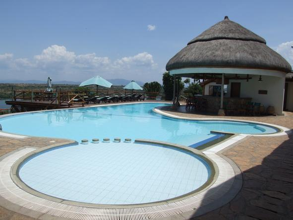 Mweya Safari Lodge - Pool